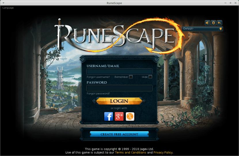 Ejecución del Cliente nativo de Runescape para Linux