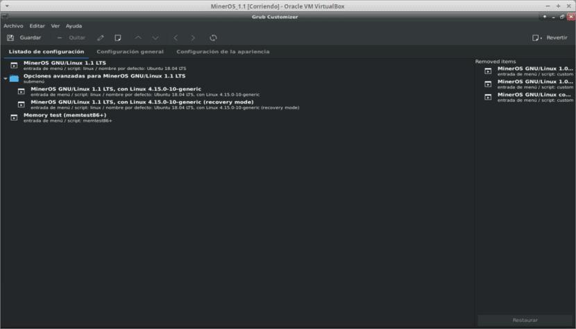Налаштуйте GNU / Linux за допомогою Grub Customizer