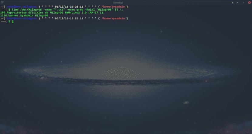 Grep: Busqueda de patrones en archivos