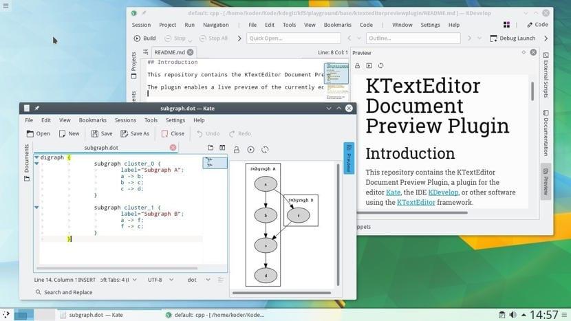 Fampidinana KDE 18.08
