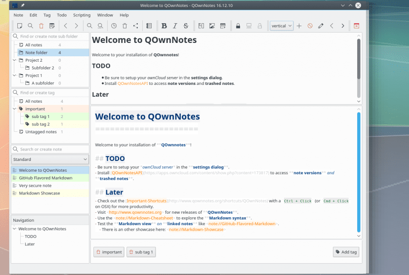QOwnNotes-Main-Screen