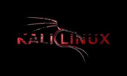Kali Linux fondo