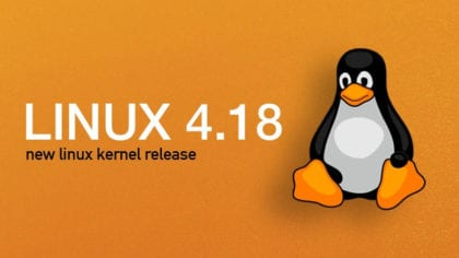 Linux Kernel 4.18.1