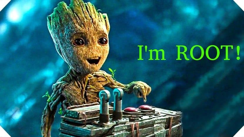 Groot dice: I'm root