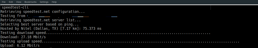 speedtest-cli