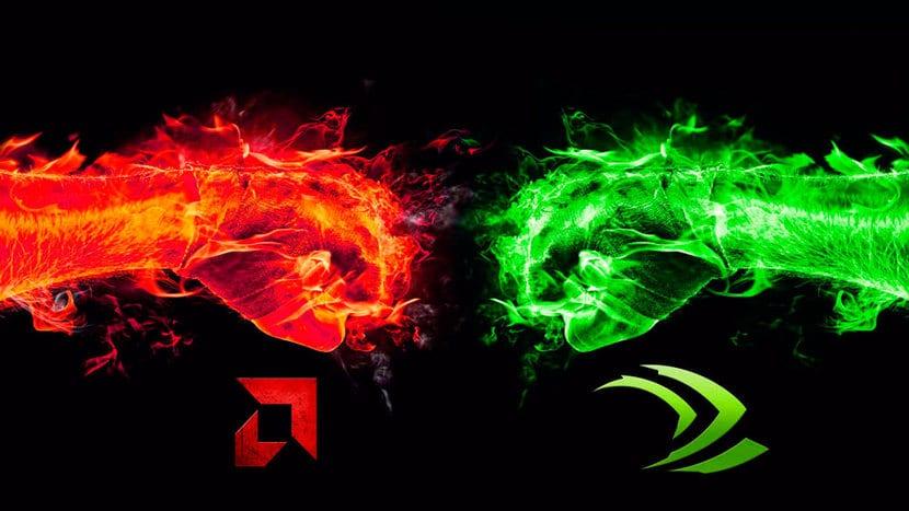 AMD vs NVIDIA puños