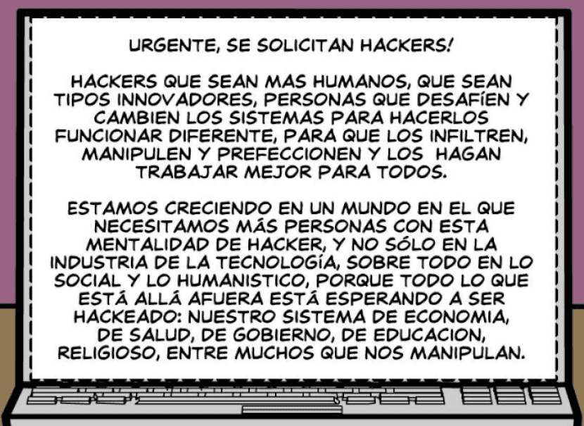 Movimiento Hacker: ¡Se solicitan Hackers!