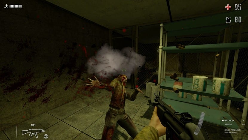Zombie Panic! captura de pantalla