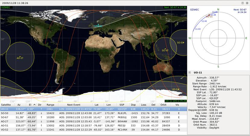 5 apps para ver satélites en tiempo real