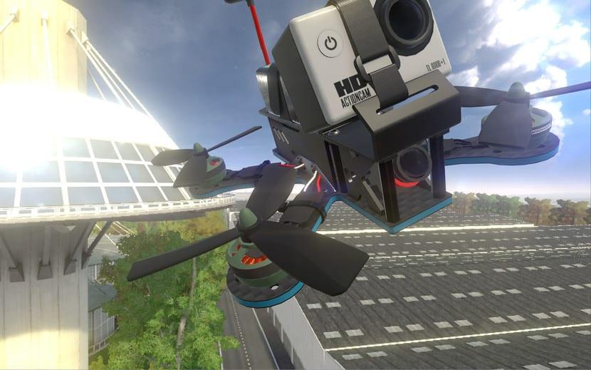 Drone en LiftOff (captura de pantalla)