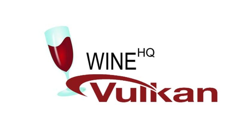 Logos de Wine y Vulkan