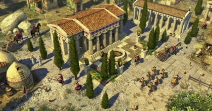 Captura de pantalla del 0 AD