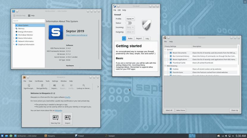 Septor Linux 2019