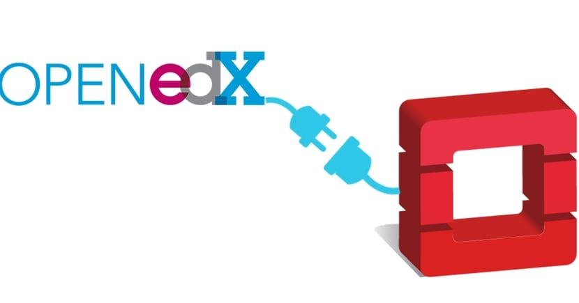 edX y OpenStack logos