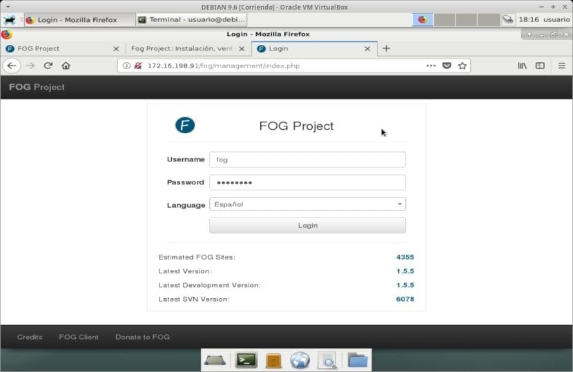 Fog Project: Sistema
