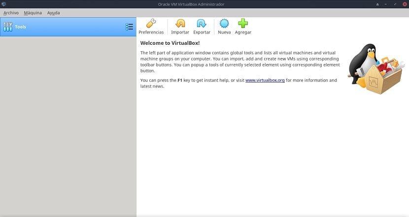 Virtualbox: Aplicación de Virtualización