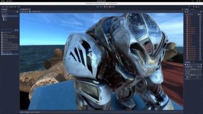 Godot 3 captura de pantalla