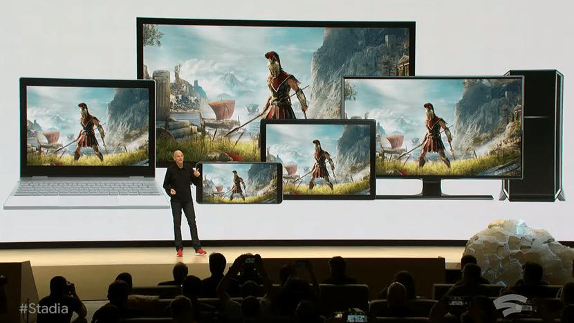 Google STadia presentacion
