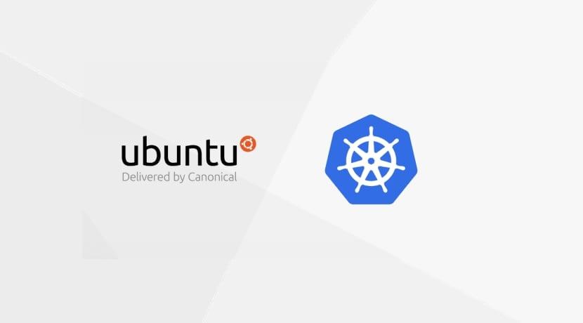 Kubernetes logo y Ubuntu