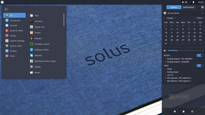 Solus 4: escritorio