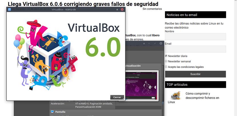 Llega VirtualBox 6 0 6 corrigiendo graves fallos de seguridad