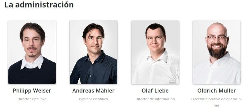 AnyDesk: Historia - Equipo de Trabajo