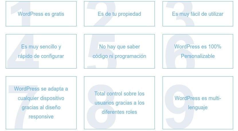 WordPress: Caracteristicas