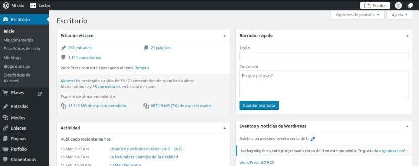 WordPress: Estructura Tradicional