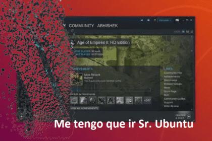 Ubuntu 19.10 se quedara sin Steam