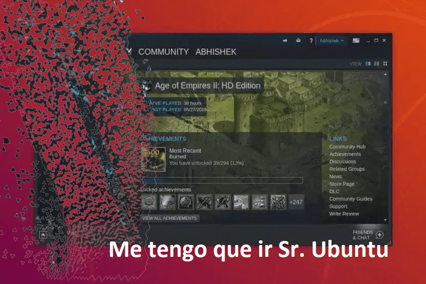 Ubuntu 19.10 se quedara sin Steam