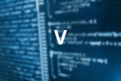 lenguaje de programación V