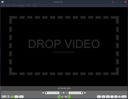 LosslessCut - Editor de vídeo ahora en su nueva versión 2.3.0