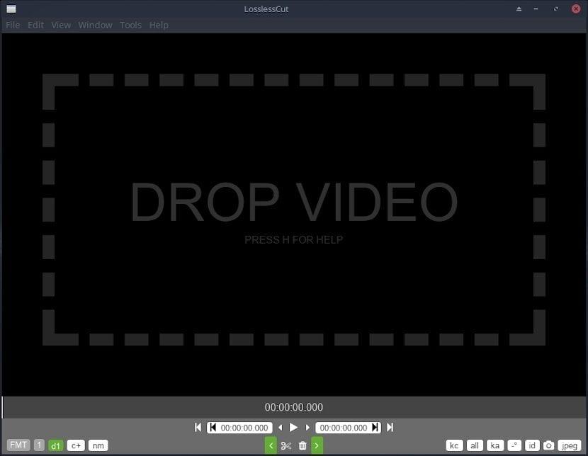 Editor de vídeo LosslessCut: Ahora en su nueva versión 2.3.0