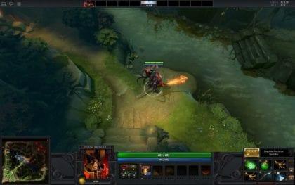 captura de pantalla de Dota 2