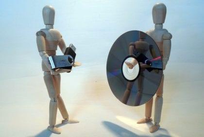Gestores de grabación de imágenes de disco en dispositivos USB
