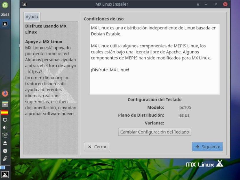 MX-Linux 19: Instalación Paso 3