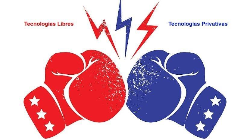 Tecnologías libres y privativas desde la perspectiva de la Seguridad de la Información