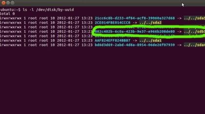 UUID en Linux