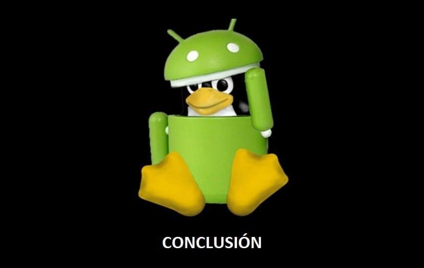 Android + Linux: Conclusión