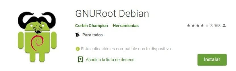 Android + Linux: GNURoot Debian