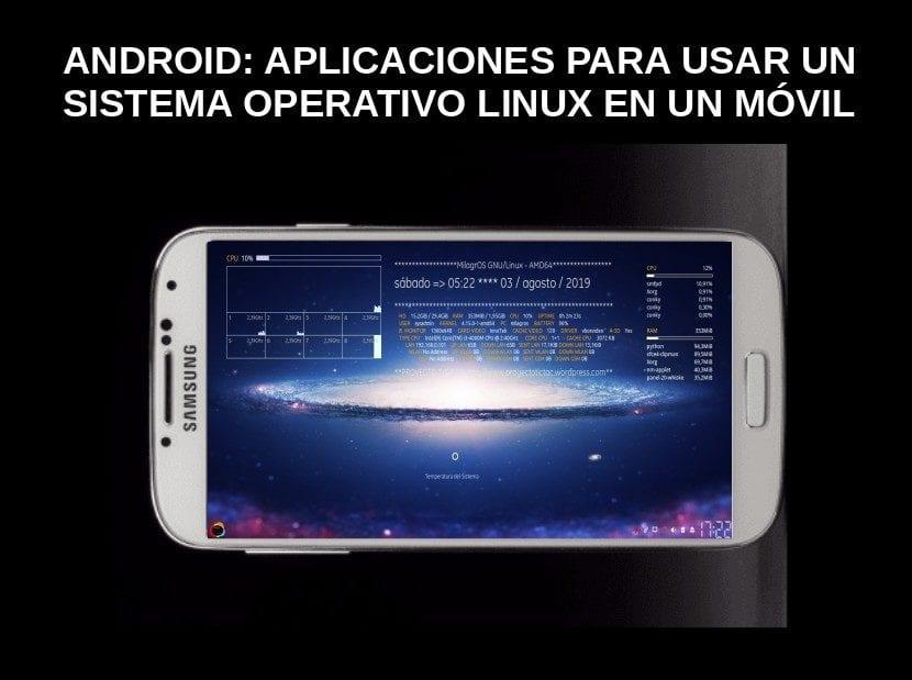 Android: Aplicaciones para usar un Sistema Operativo Linux en un Móvil
