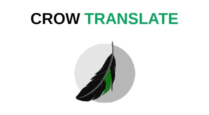 Crow Translate: Novedades