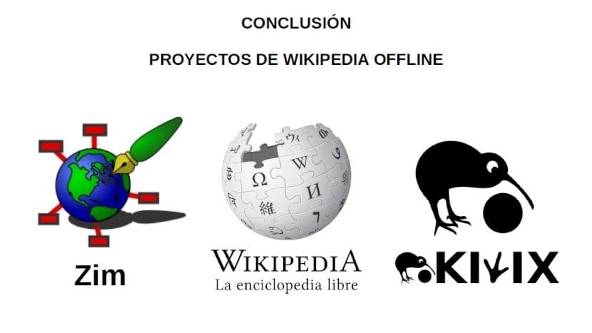 Wikipedia: Conclusión - Proyectos Offline