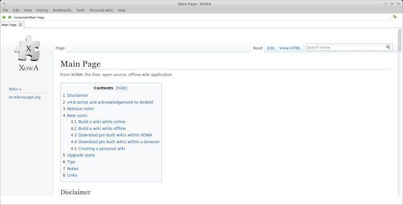 Wikipedia: Introducción - Proyecto XowA