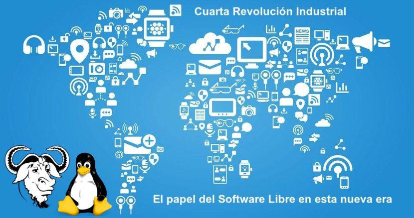 Cuarta Revolución Industrial: El papel del Software Libre en esta nueva era