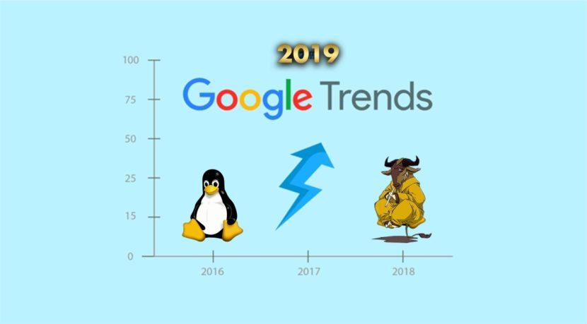 Tendencias del 2019: Estadísticas sobre Software Libre y GNU/Linux
