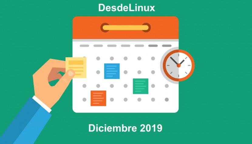 Diciembre 2019: Contenido
