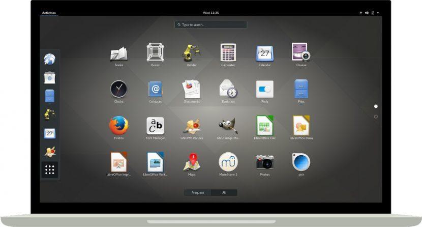 GNOME: Entorno de Escritorio