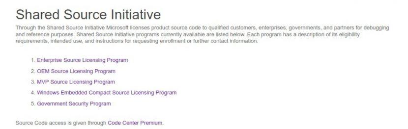 Iniciativa de Código compartido: Microsoft - Conclusion