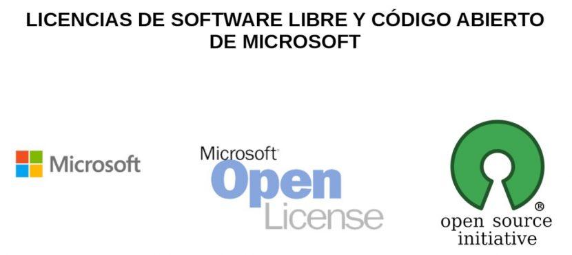 Licencias Abiertas de Microsoft: Introducción